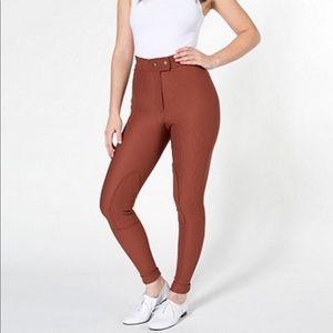 American Apparel Riding Pants Large O1044